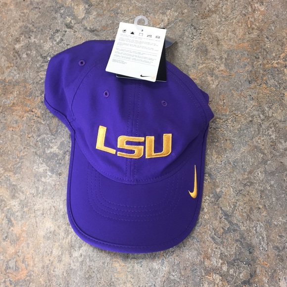 b5b207f78b9 LSU Tigers Nike Vapor Adjustable Hat Cap